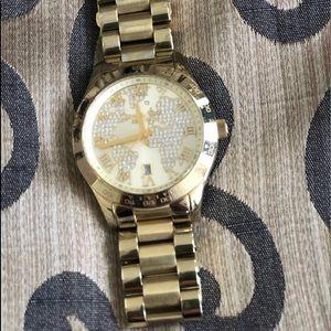 MK Ladies Gold Watch